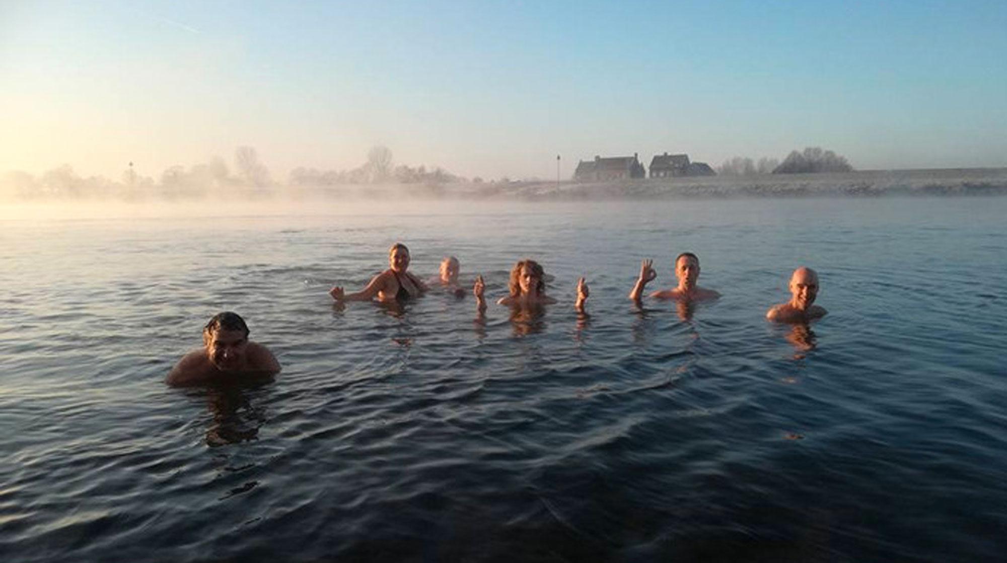 De Stentor Zwolle Winterzwemmen